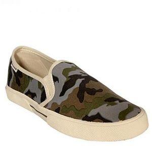 Groove Genius Camouflage slip-on Sneakers NEW